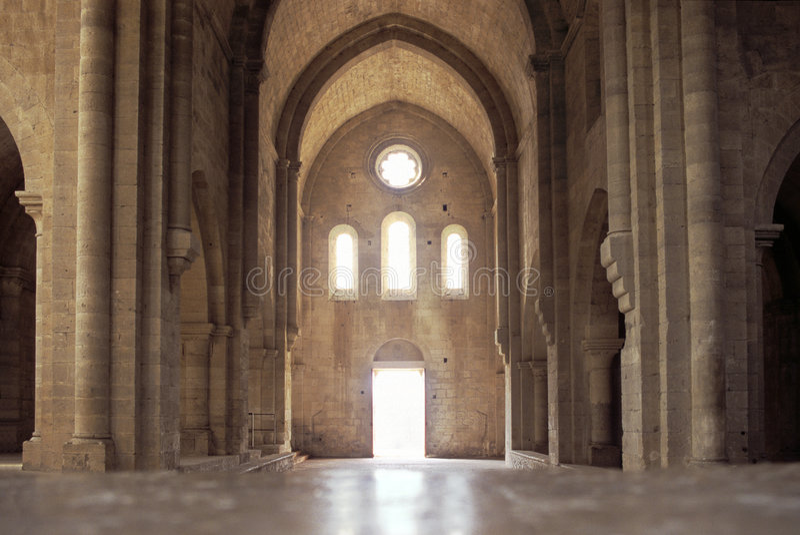 Abbazia Cistercian fotografia stock