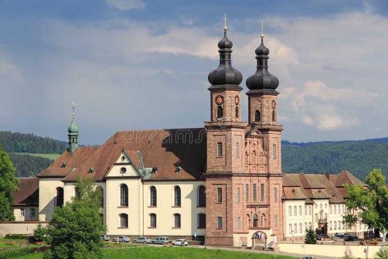 Abbazia del benedettino di St Peter in Germania immagini stock libere da diritti