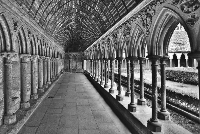 Abbazia del Saint Michel di Mont immagini stock