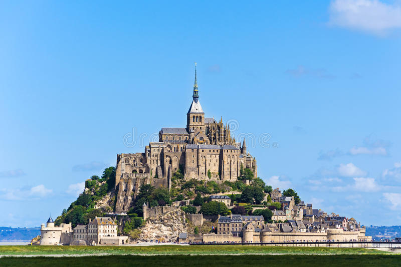 Abbazia del Saint Michel di Mont immagine stock