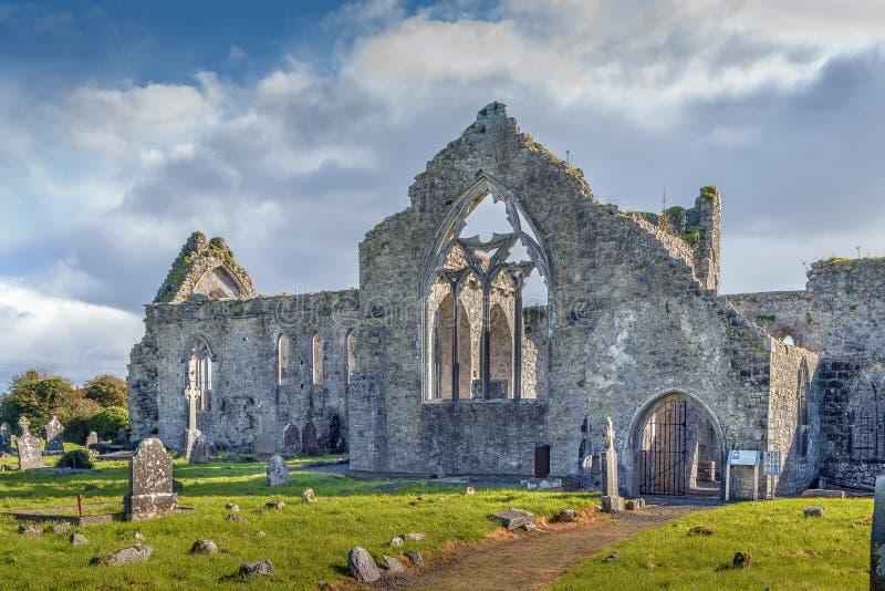 Abbazia di Athenry, Irlanda fotografia stock