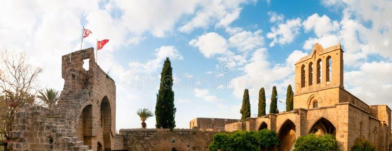 Abbazia di Bellapais Distretto di Kyrenia cyprus fotografia stock