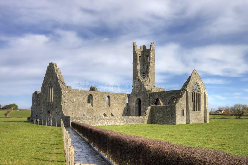 Abbazia di Kilmallock, convento domenicano. L'Irlanda. fotografia stock