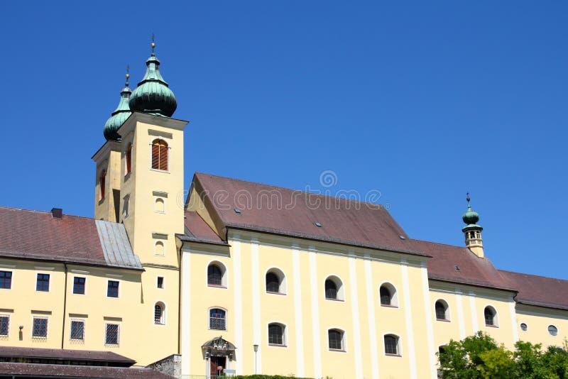 Abbazia di Lambach - dell'Austria immagine stock