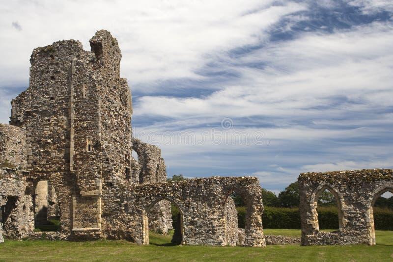 Abbazia di Leiston, Suffolk, Inghilterra fotografie stock libere da diritti