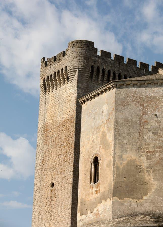 Abbazia di Montmajour vicino a Arles Provenza Francia fotografie stock