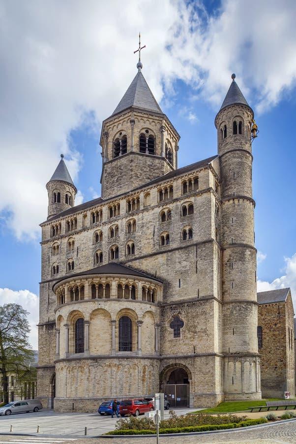 Abbazia di Nivelles, Belgio immagini stock