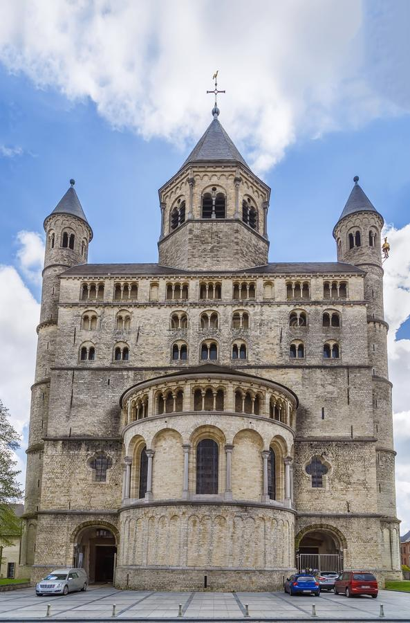 Abbazia di Nivelles, Belgio fotografie stock