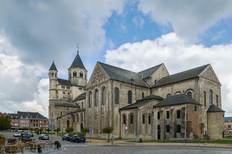 Abbazia di Nivelles, Belgio fotografia stock libera da diritti
