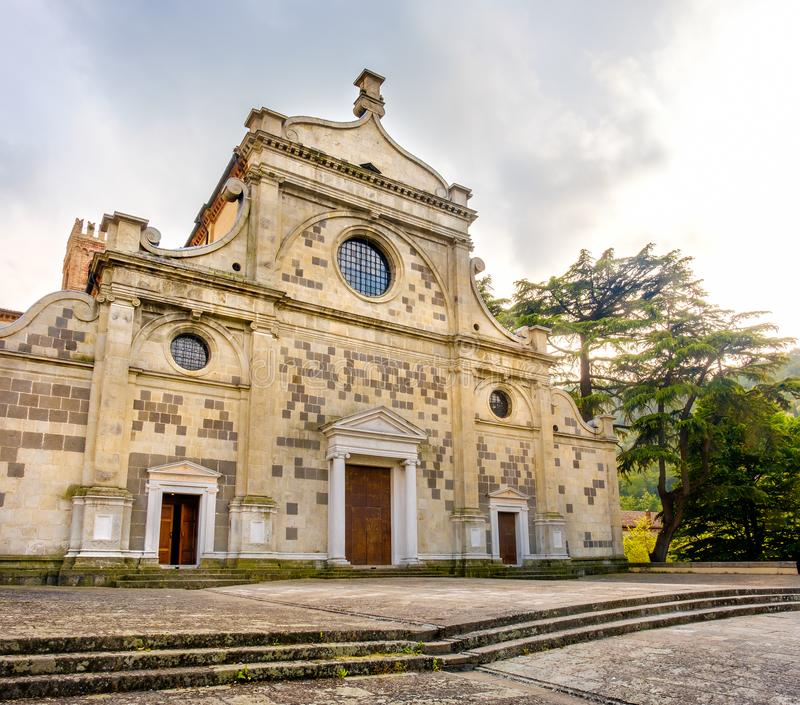 Abbazia di Praglia Praglia Abbey - Padua - Euganean Hills Col. Li Euganei - Italy royalty free stock photos