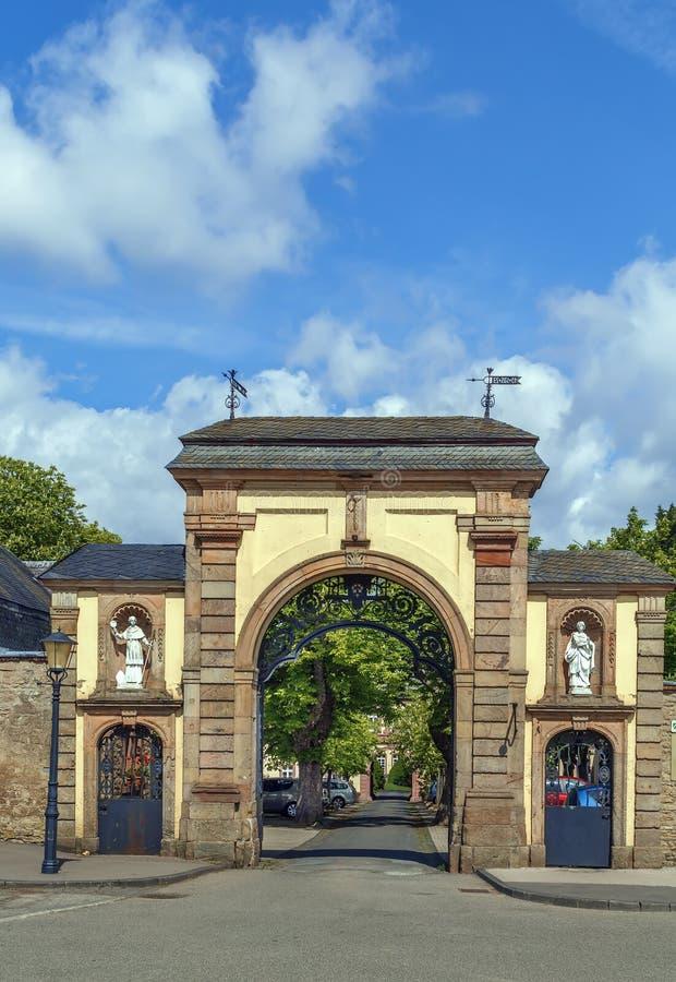 Abbazia di Steinfeld, Germania fotografia stock
