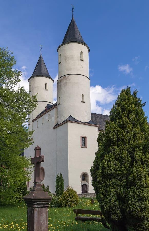 Abbazia di Steinfeld, Germania immagini stock