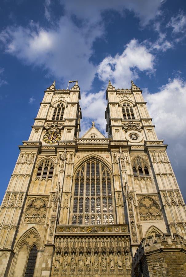 Abbazia di Westminster a Londra immagine stock