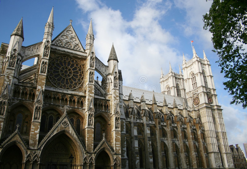 Abbazia di Westminster, Londra immagini stock libere da diritti