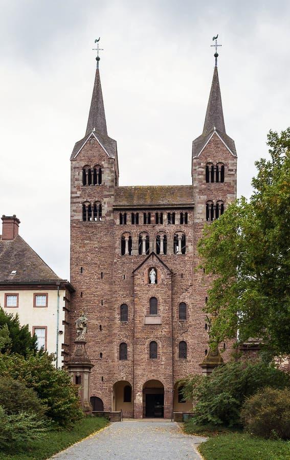 Abbazia imperiale di Corvey, Germania fotografie stock