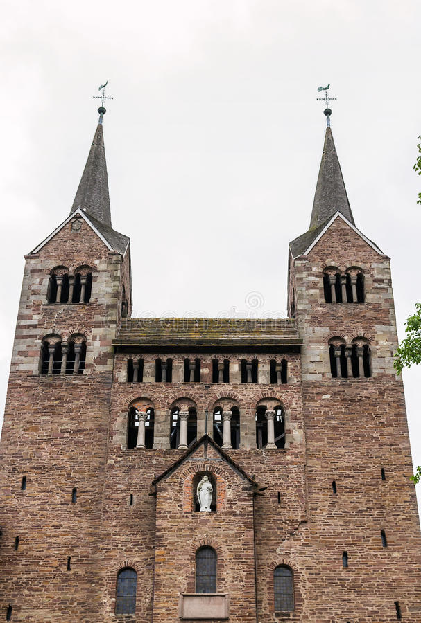 Abbazia imperiale di Corvey, Germania immagini stock