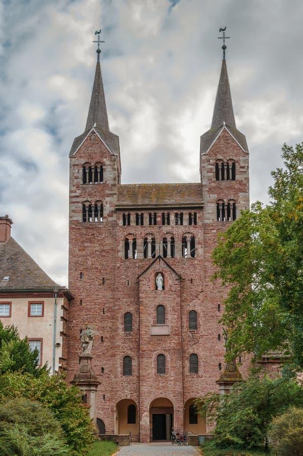 Abbazia imperiale di Corvey, Germania fotografia stock