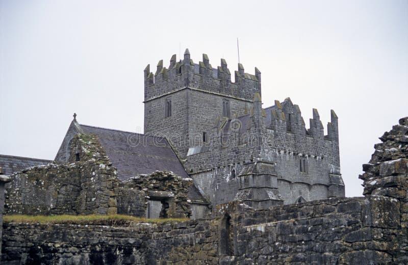 Abbazia trasversale santa, Tipperary fotografia stock