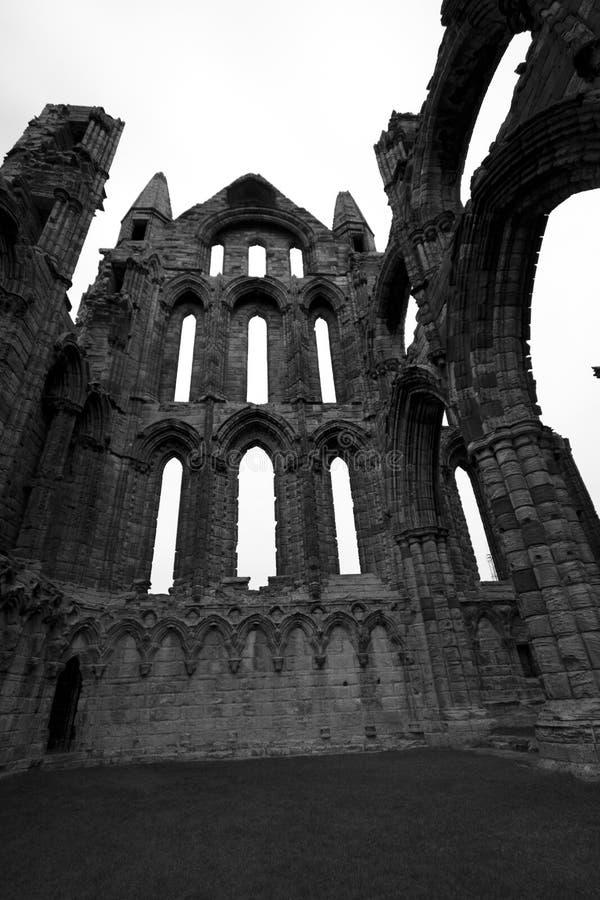 abbey czarny whitby white zdjęcia royalty free
