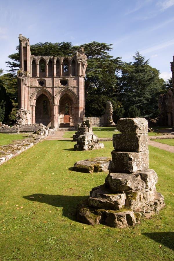 abbey dryburgh стоковая фотография