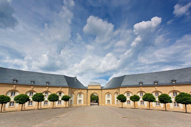 Abbey Echternach, de Luxemburgo foto de stock royalty free