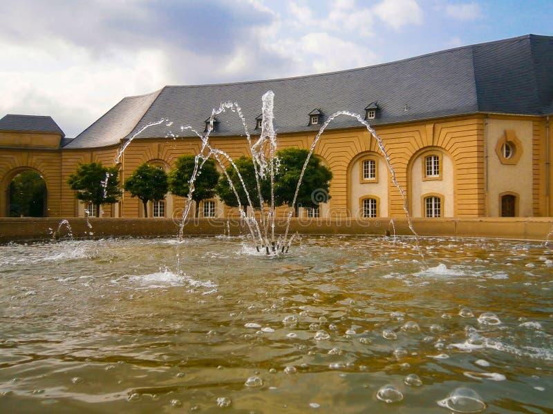 Abbey Echternach de Luxemburgo fotos de archivo libres de regalías