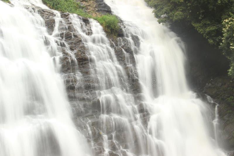 Abbey Falls Coorg royaltyfri bild