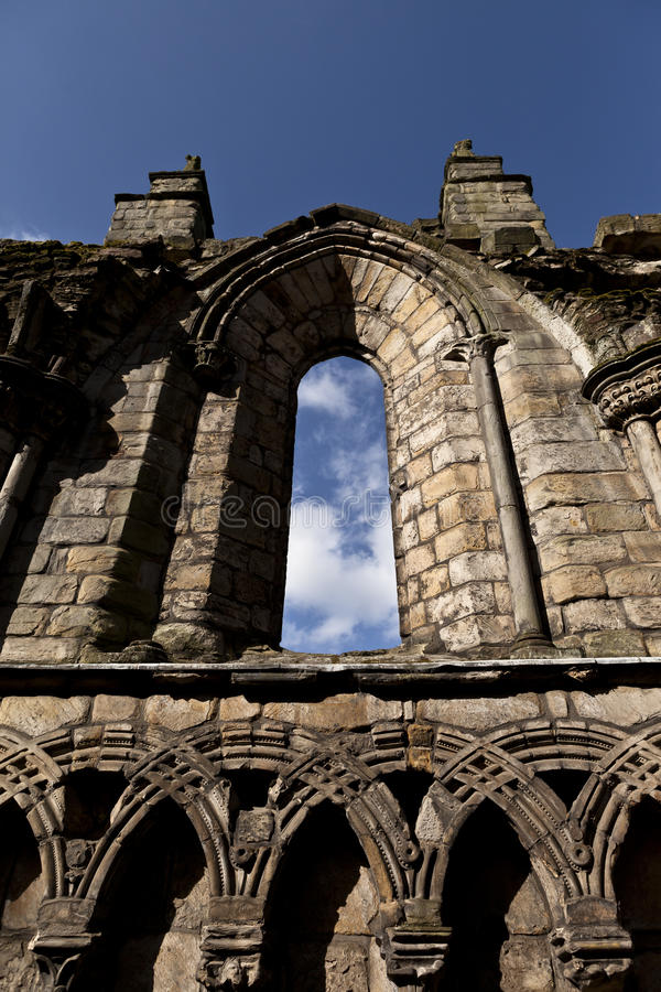 Download Abbey in Holyrood Palace stock image. Image of ruin, holyrood - 26537191