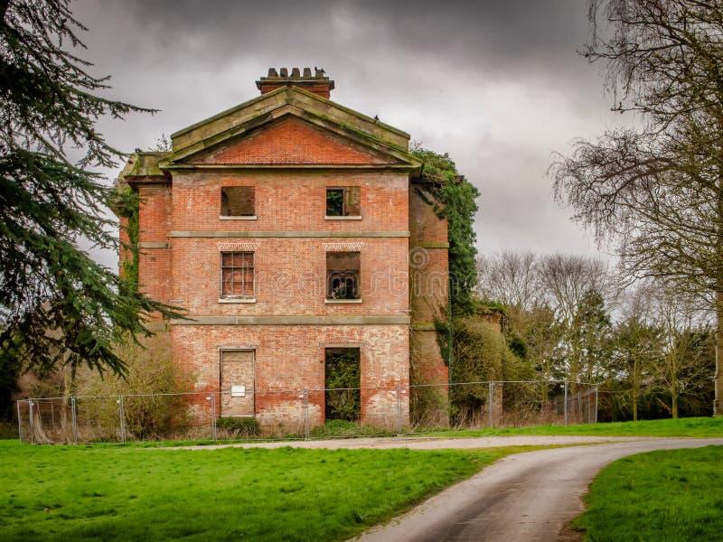 Abbey House et abbaye de Ranton, Ranton, le Staffordshire photo stock