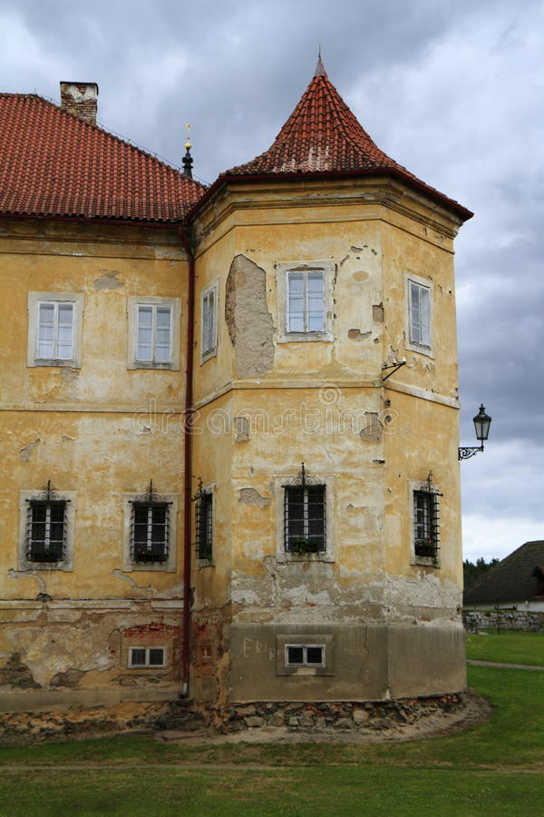 The Abbey of Kladruby stock images