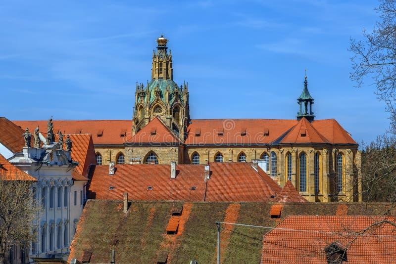 Abbey of Kladruby, Czech republic royalty free stock photography