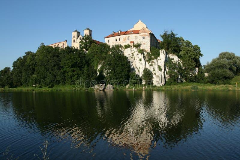 abbey krakow arkivbilder
