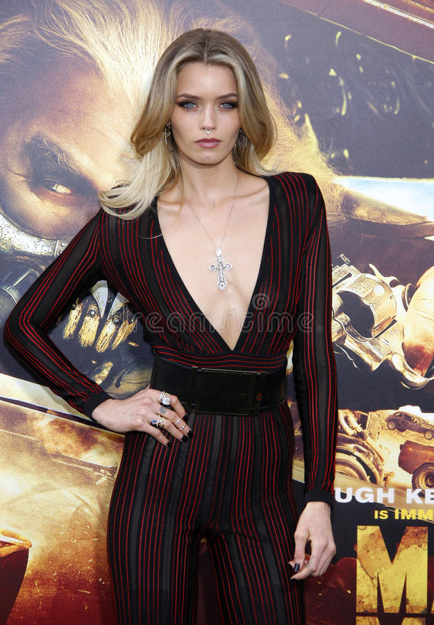 Abbey Lee image libre de droits