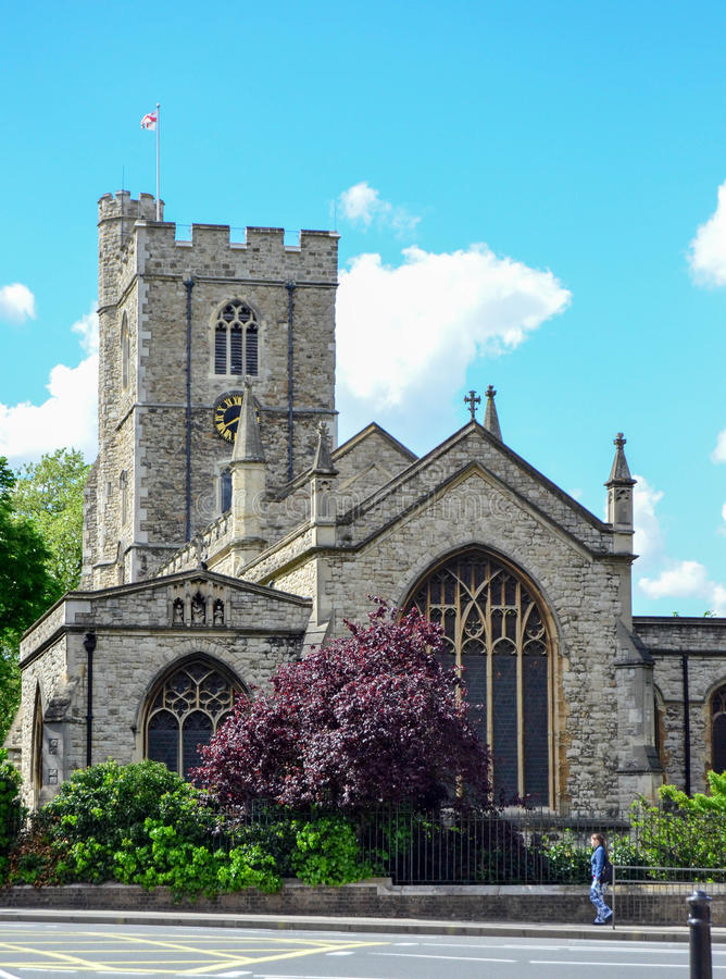 Abbey in London royalty free stock photo