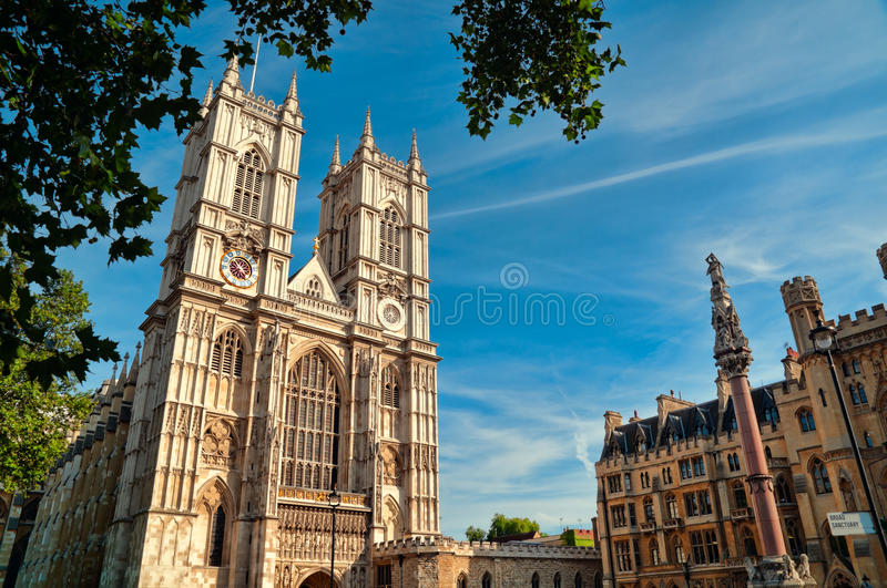 abbey london westminster arkivbilder