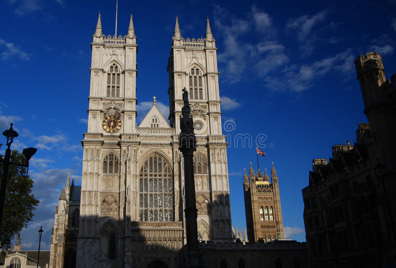 abbey london westminster arkivbild