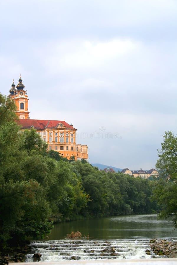 Abbey of Melk royalty free stock photo