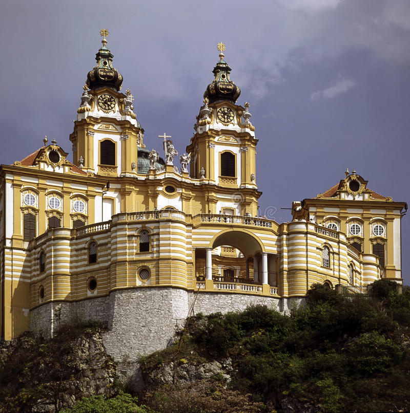 Abbey Melk, Austria royalty free stock image