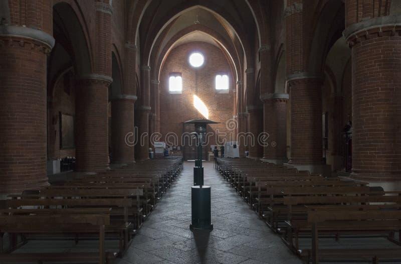 Abbey of Morimondo royalty free stock image