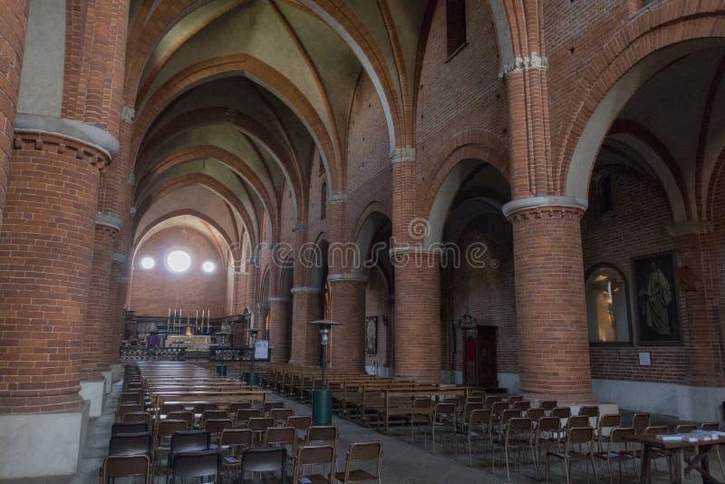 Abbey of Morimondo royalty free stock photos