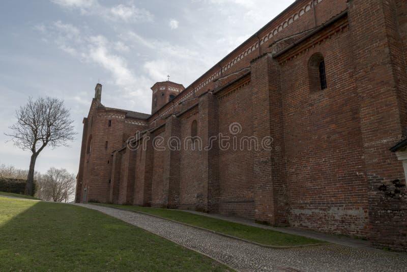 Abbey of Morimondo royalty free stock photo