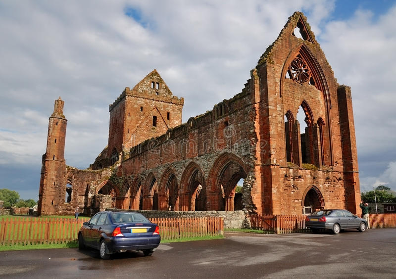 abbey nya scotland arkivfoto