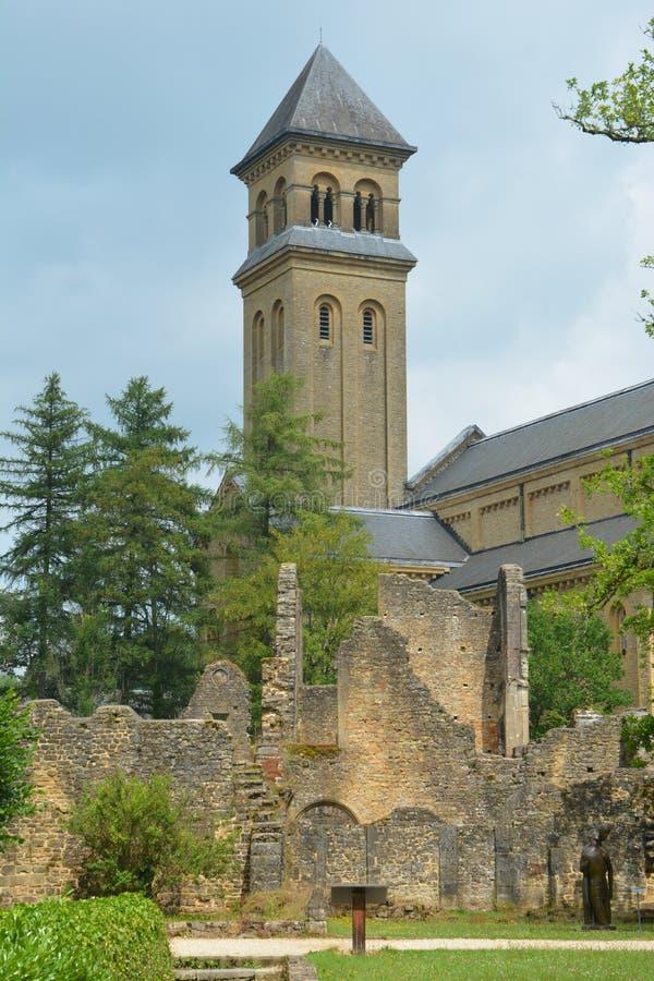 Abbey Of Orval antique image libre de droits