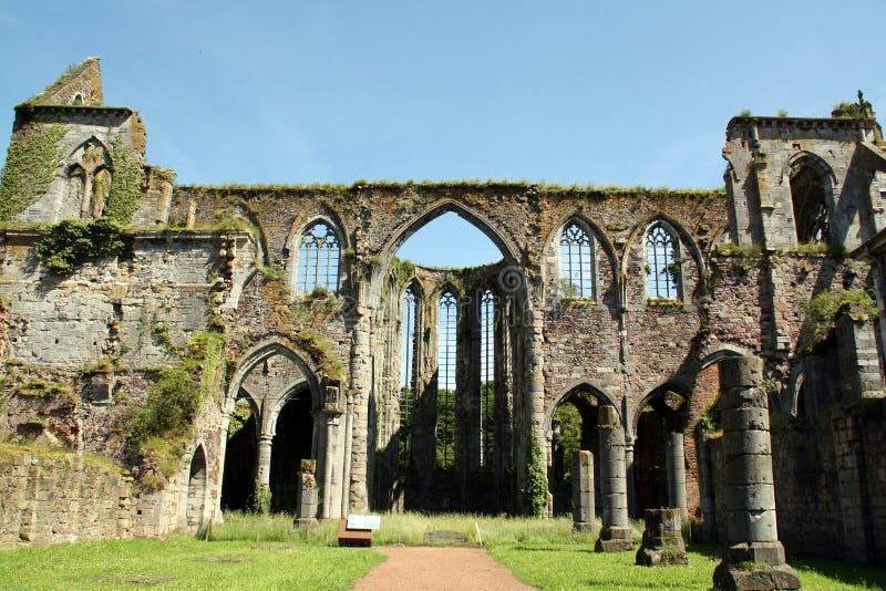 Abbey Ruins lizenzfreies stockbild