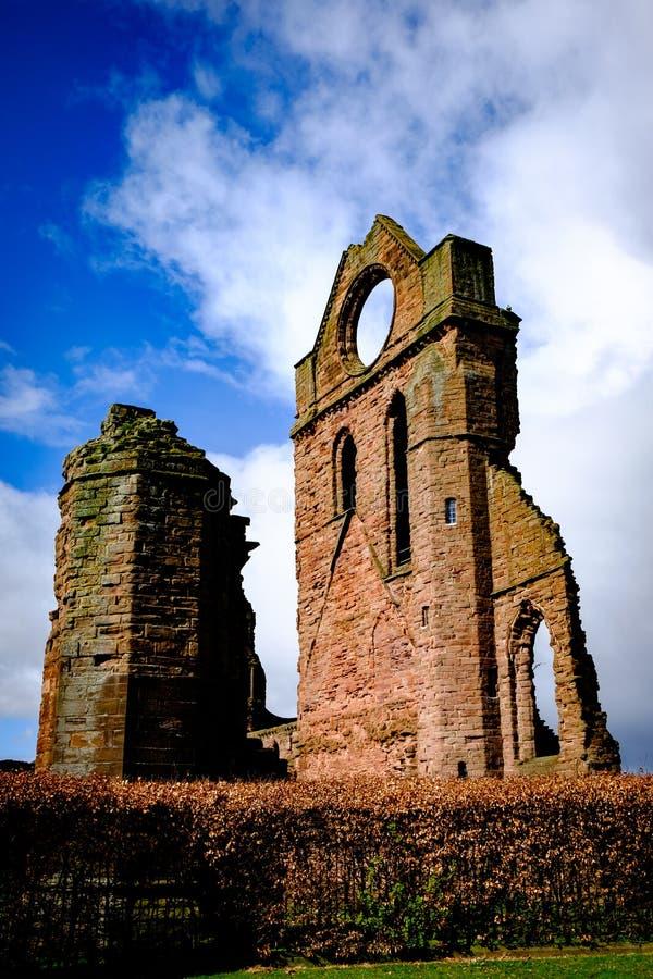 Abbey Ruins fotos de stock royalty free