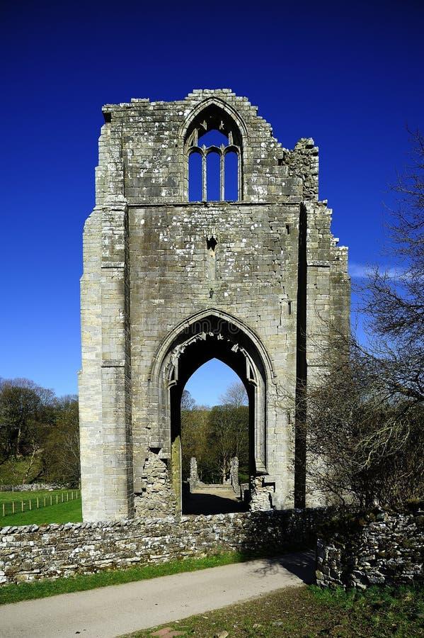 Abbey Ruins idosa fotos de stock royalty free