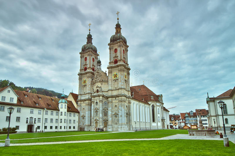 Abbey of Saint Gall. In Switzerland stock photos