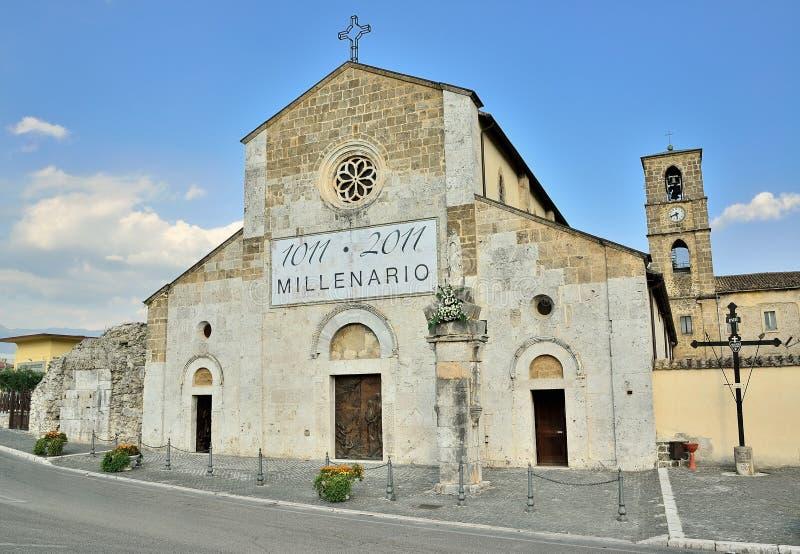 Abbey San Domenico royaltyfria bilder