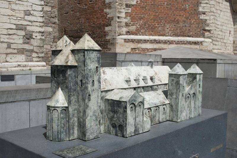 Download Abbey Of Sint-Truiden: Architectural Model Stock Photo - Image: 25528694