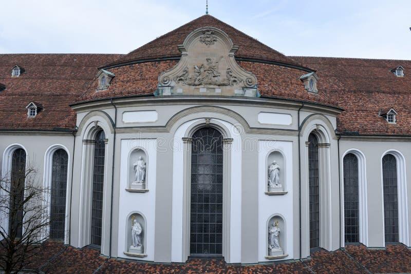Abbey of St. Gallen on Switzerland. Unesco world heritage royalty free stock photo